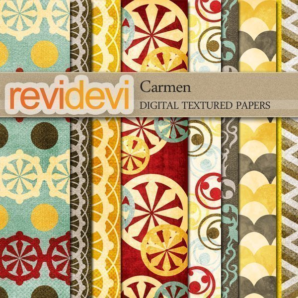 Carmen Textured Papers  Revidevi    Mygrafico
