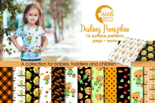 Pumpkin papers, Halloween Digital paper. Halloween papers, Halloween backgrounds, Halloween pattern, Pumpkin Pattern, Comm.use, AMB-2262 Digital Paper & Backgrounds AMBillustrations    Mygrafico