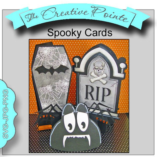 Spooky Cards  The Creative Pointe    Mygrafico