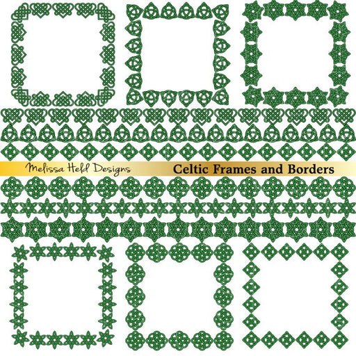 Celtic Borders and Frames Clipart Cliparts Melissa Held Designs    Mygrafico