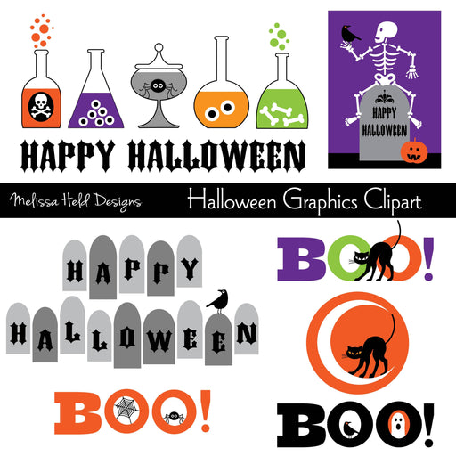 Halloween Graphics Clipart