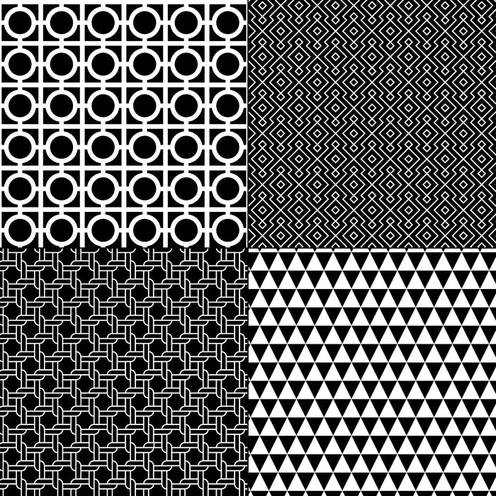 Black and White Geometrics Digital Paper & Backgrounds Melissa Held Designs    Mygrafico