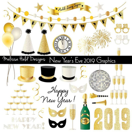 New Years Eve 2019 Clipart