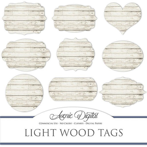 White wood tags Cliparts  Avenie Digital    Mygrafico