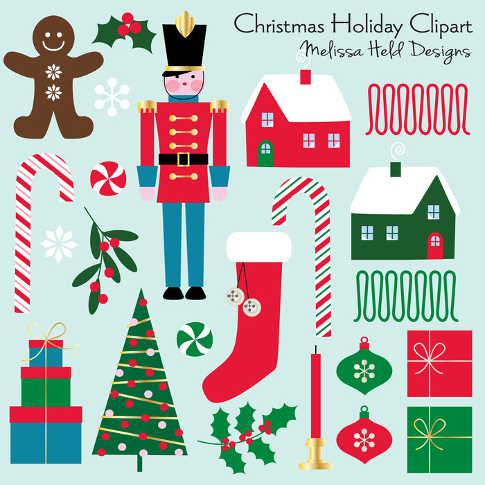 Christmas Holiday Clipart Cliparts Melissa Held Designs    Mygrafico