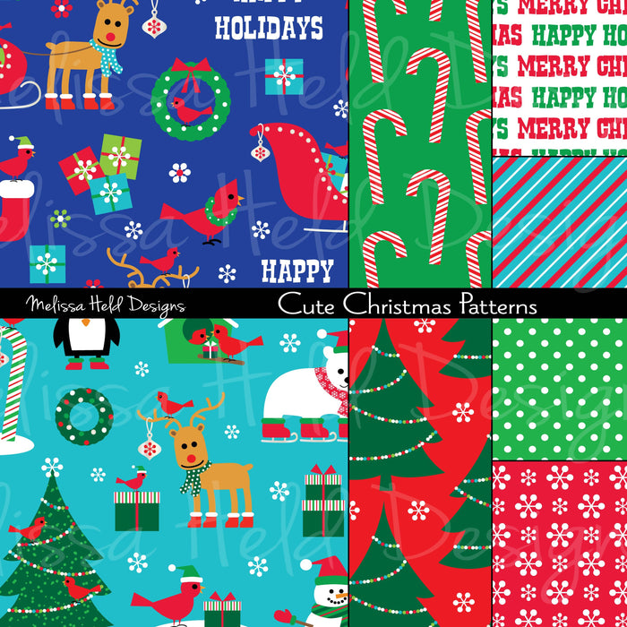 Cute Christmas Patterns Mygrafico Magnificent Christmas Patterns