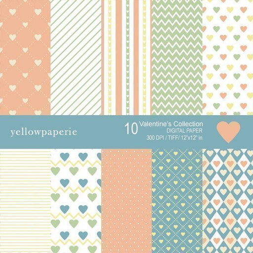 Valentines Collection  Yellowpaperie    Mygrafico