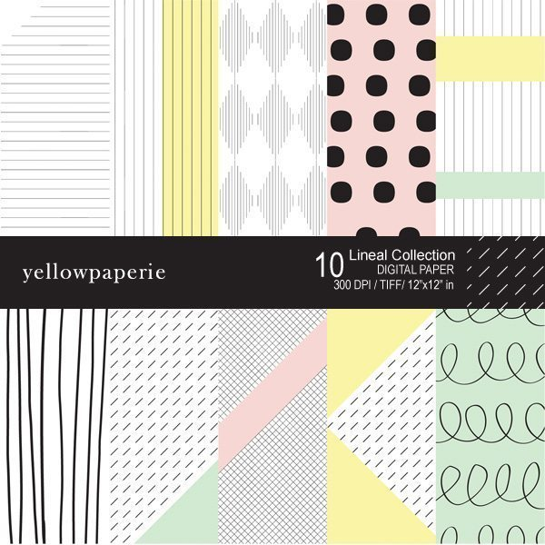 Lineal Collection  Yellowpaperie    Mygrafico