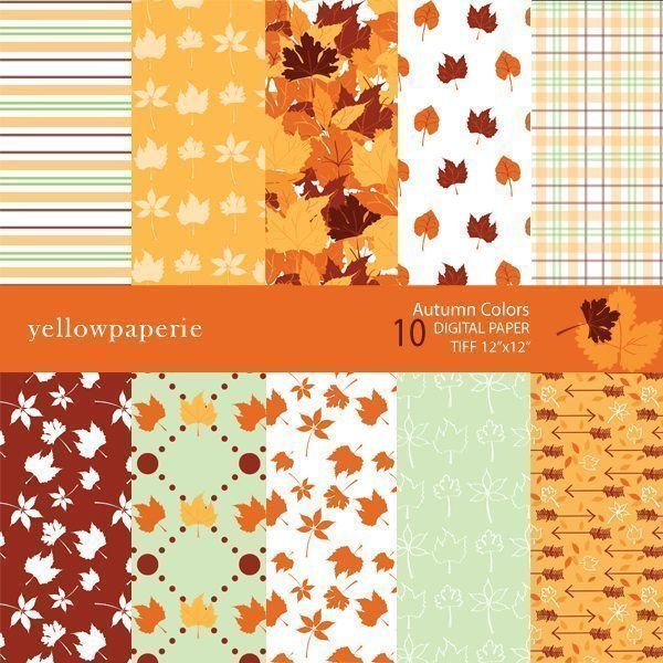 Autumn Colors  Yellowpaperie    Mygrafico