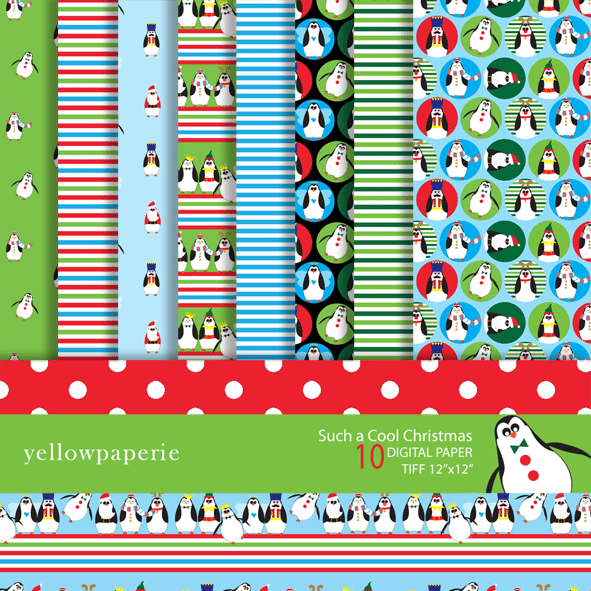 Such a cool Christmas  Yellowpaperie    Mygrafico