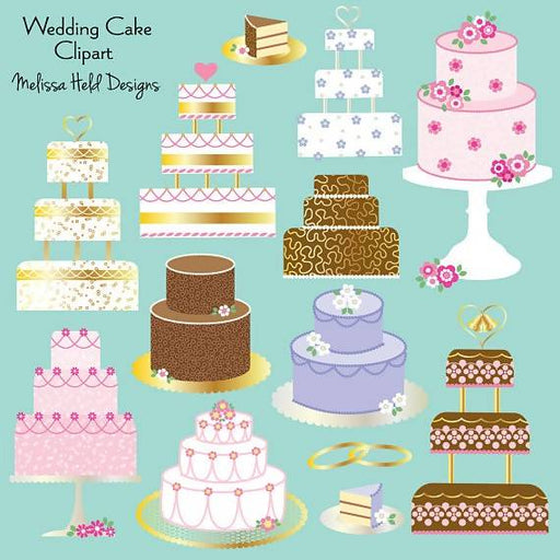 Wedding Cake Clipart Cliparts Melissa Held Designs    Mygrafico
