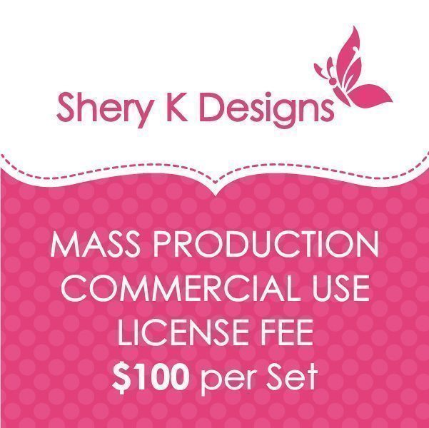 SHERY K Designs Mass Production Commercial License  Shery K Designs    Mygrafico
