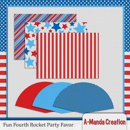 Fun Fourth Treat Rockets SVG  A-Manda Creation    Mygrafico
