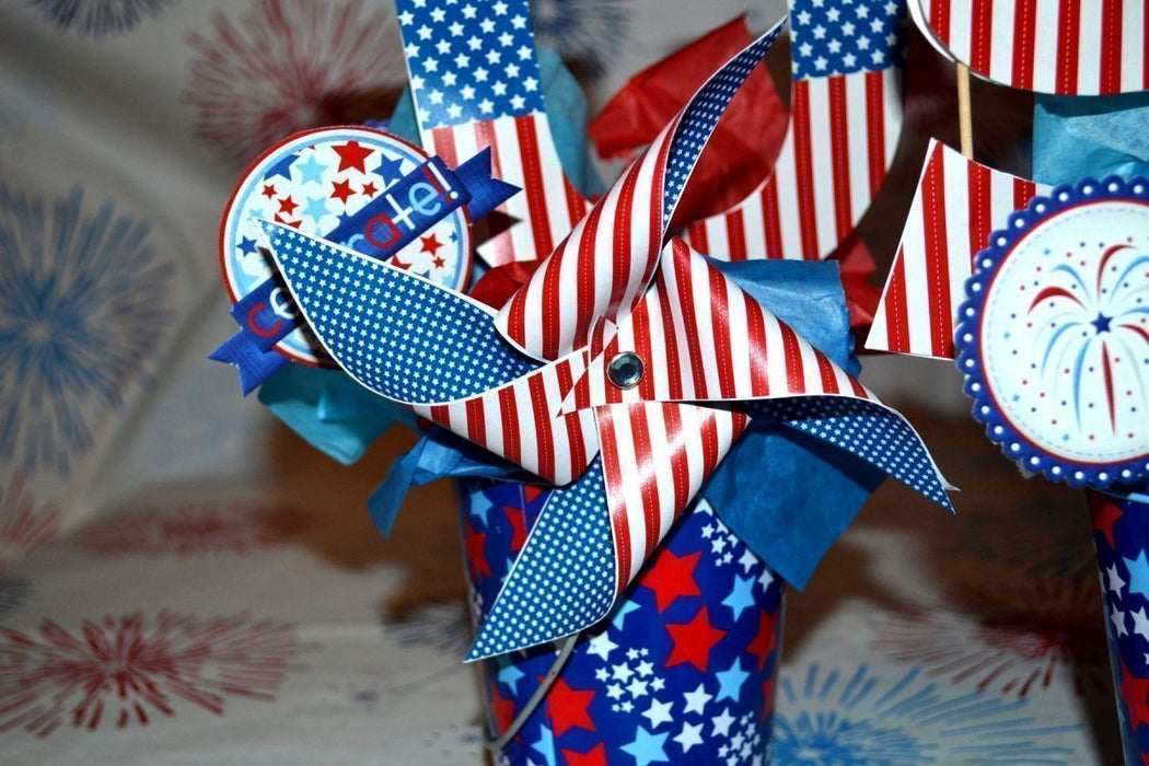 Fun Fourth of July Centerpiece SVG  A-Manda Creation    Mygrafico
