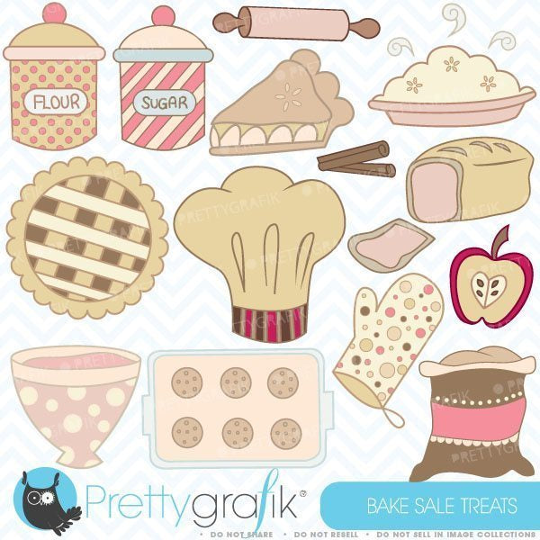 Bake sale treats  Prettygrafik    Mygrafico