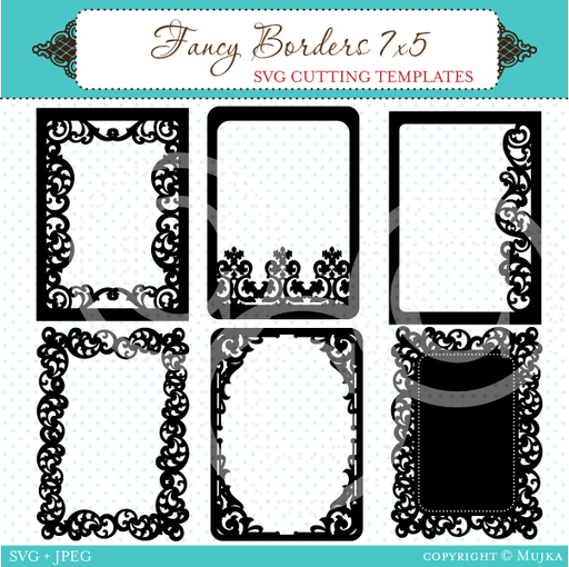 Fancy Borders Svg Cutting Templates
