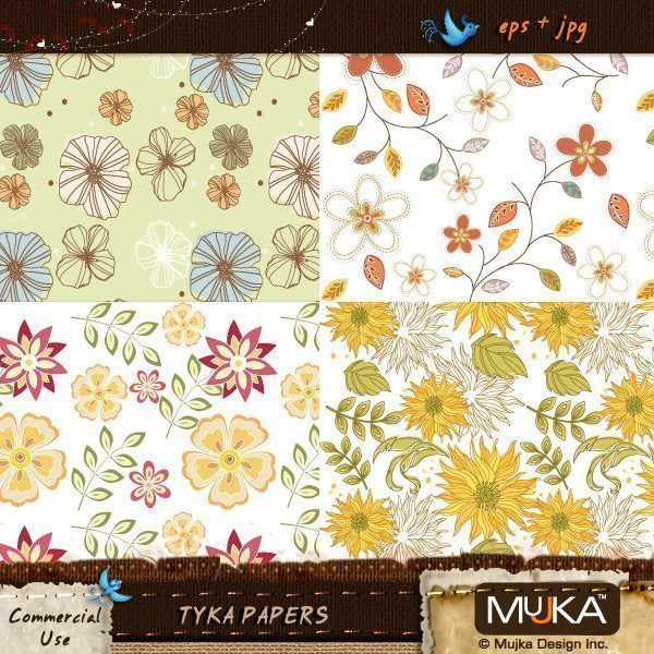 Tyka Patterns  Mujka Chic    Mygrafico
