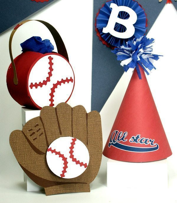 Baseball Party SVG & Printables! SVG Cutting Templates Lindsay's Stamp Stuff    Mygrafico