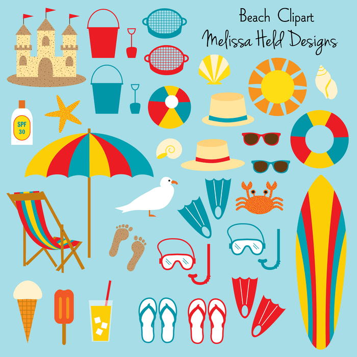 Beach Clipart Cliparts Melissa Held Designs    Mygrafico