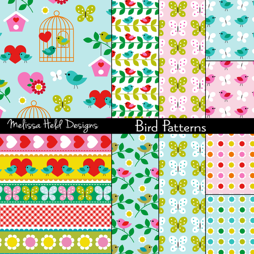 Bird Patterns Cliparts Melissa Held Designs    Mygrafico