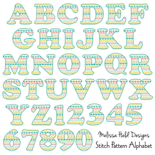 Stitch Pattern Alphabet Clipart Cliparts Melissa Held Designs    Mygrafico