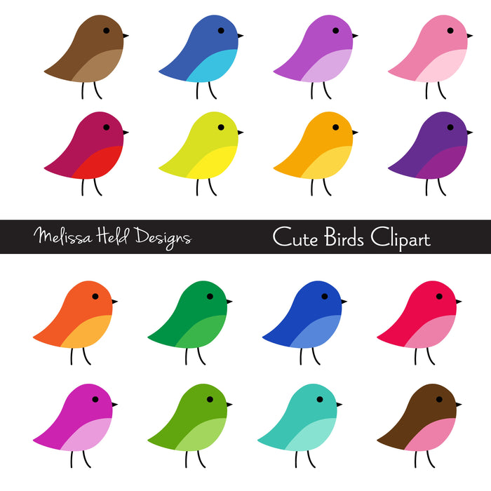 Cute Birds Clipart Cliparts Melissa Held Designs    Mygrafico