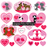 Cats and Dogs Valentines Clipart Cliparts Melissa Held Designs    Mygrafico