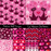 Cat Valentine's Day Patterns Digital Papers & Background Melissa Held Designs    Mygrafico