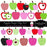 Apple Days Pattern Clip Art Set  Cupcake Cutiees    Mygrafico