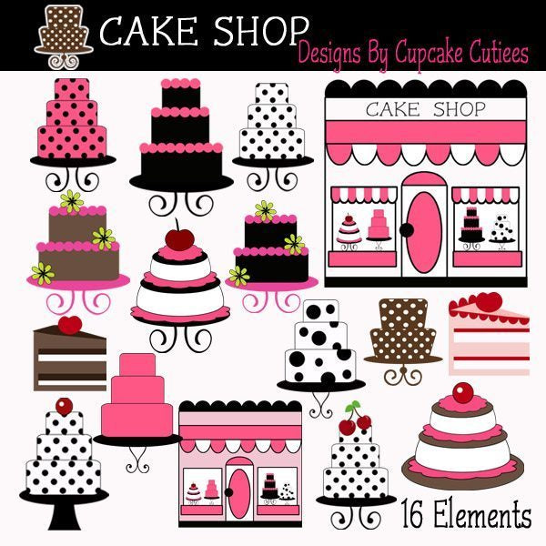 The Cake Store Elements  Cupcake Cutiees    Mygrafico