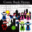 Comic Super Hero Elements  Cupcake Cutiees    Mygrafico