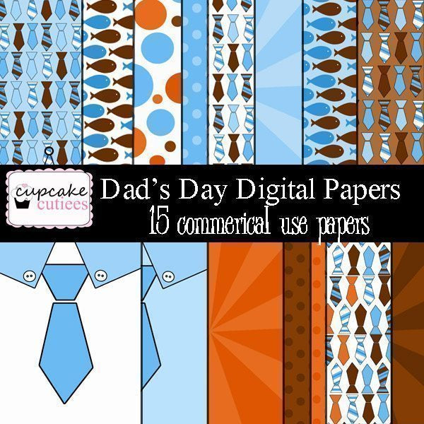 Dad's Day Papers  Cupcake Cutiees    Mygrafico