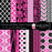 Fuchsia & Black Digital Paper Pack  Cupcake Cutiees    Mygrafico