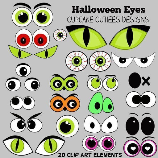 Halloween Eyes  Cupcake Cutiees    Mygrafico