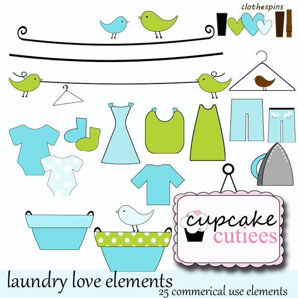 Laundry Love  Cupcake Cutiees    Mygrafico