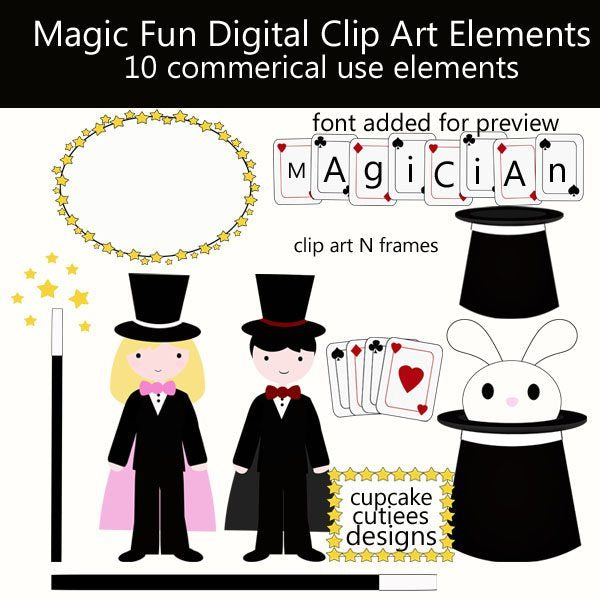 Magic Fun  Cupcake Cutiees    Mygrafico