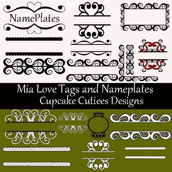 Mia Love Papers And Elements  Cupcake Cutiees    Mygrafico