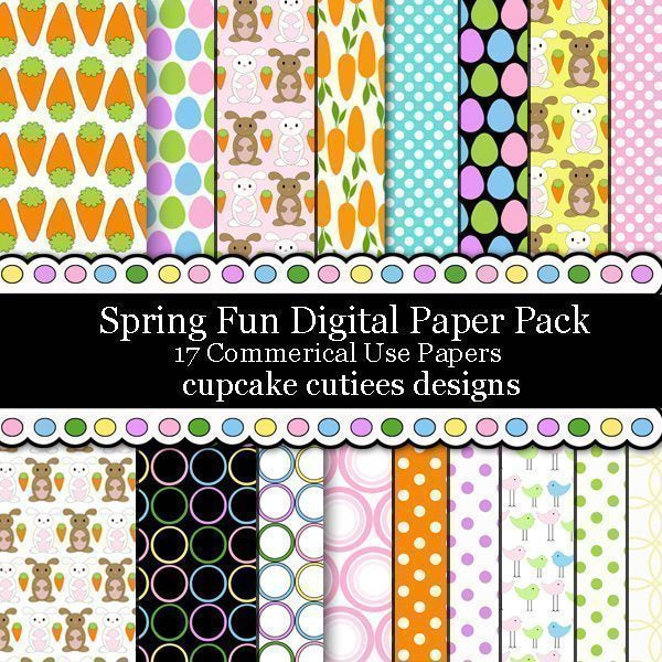 Spring N Easter Fun Papers