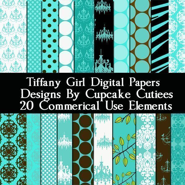 Tiffany Girl Papers  Cupcake Cutiees    Mygrafico