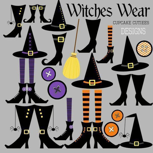 Witches Wear  Cupcake Cutiees    Mygrafico