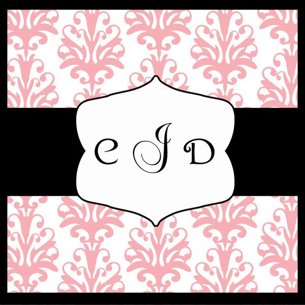 Simple Journal and Monogram Tags  Cupcake Cutiees    Mygrafico