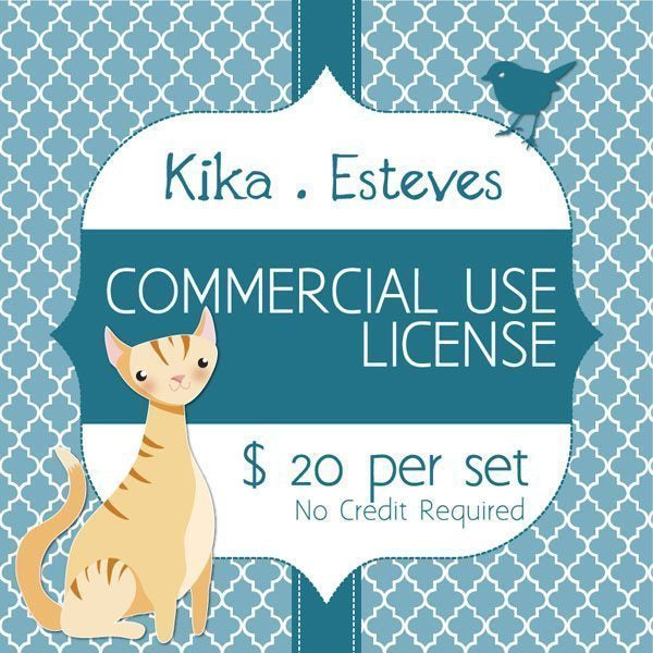 Kika Esteves Commercial Use License  Kika Digital    Mygrafico