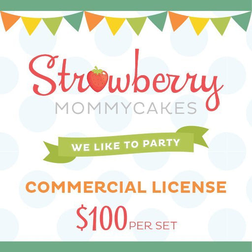 Mass Commercial License Party Printable Templates Strawberry Mommycakes    Mygrafico