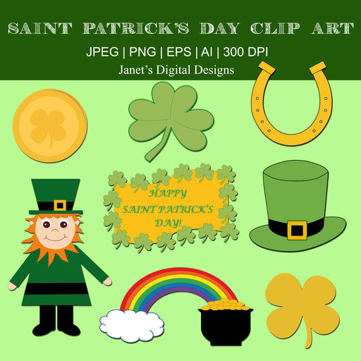 Saint Patrick's Day Clip Art Cliparts Janet's Digital Designs    Mygrafico