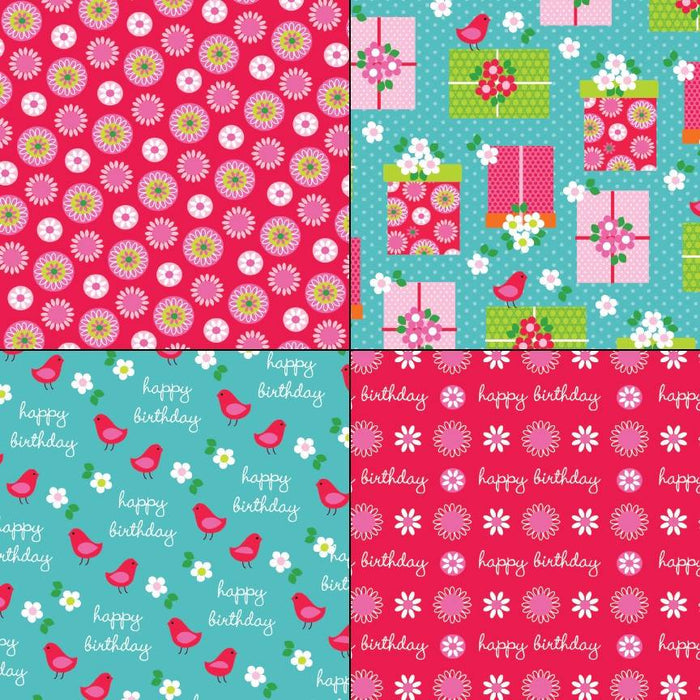 Birthday Patterns Digital Paper & Backgrounds Melissa Held Designs    Mygrafico