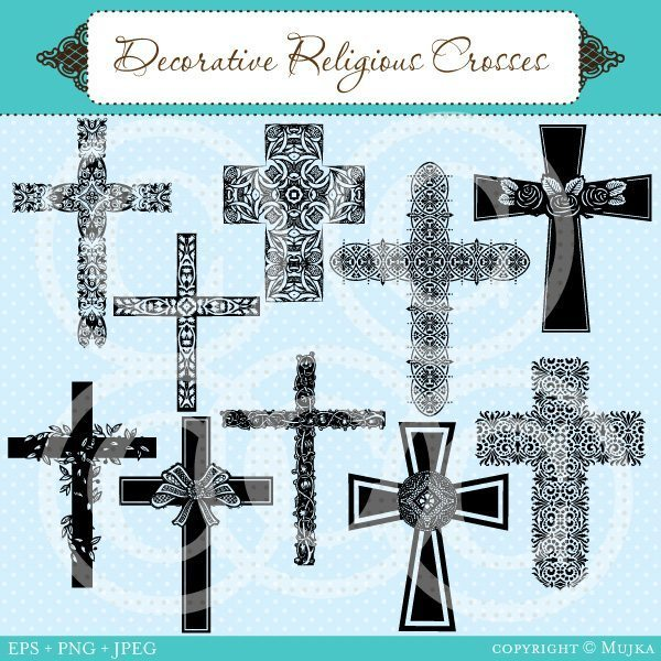 Decorative Religious Crosses  Mujka Chic    Mygrafico