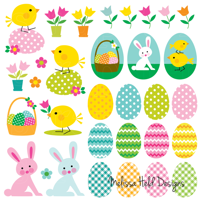 Cute Easter Clipart Cliparts Melissa Held Designs    Mygrafico