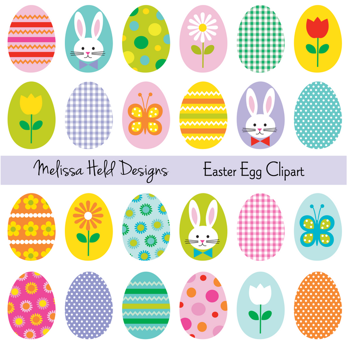 Easter Egg Clipart Cliparts Melissa Held Designs    Mygrafico