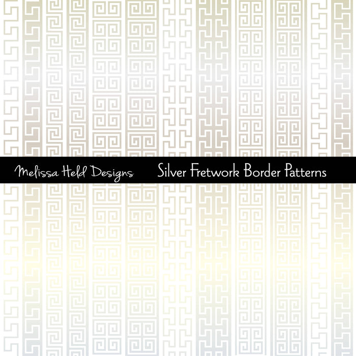 Silver Fretwork Borders Patterns Cliparts Melissa Held Designs    Mygrafico