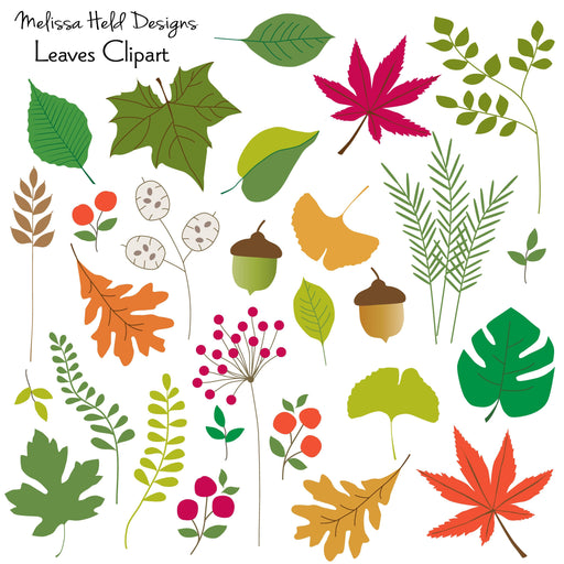 Leaves Clipart Cliparts Melissa Held Designs    Mygrafico